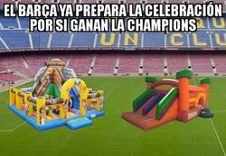 Enlace a Los niños acaparan las celebraciones culés