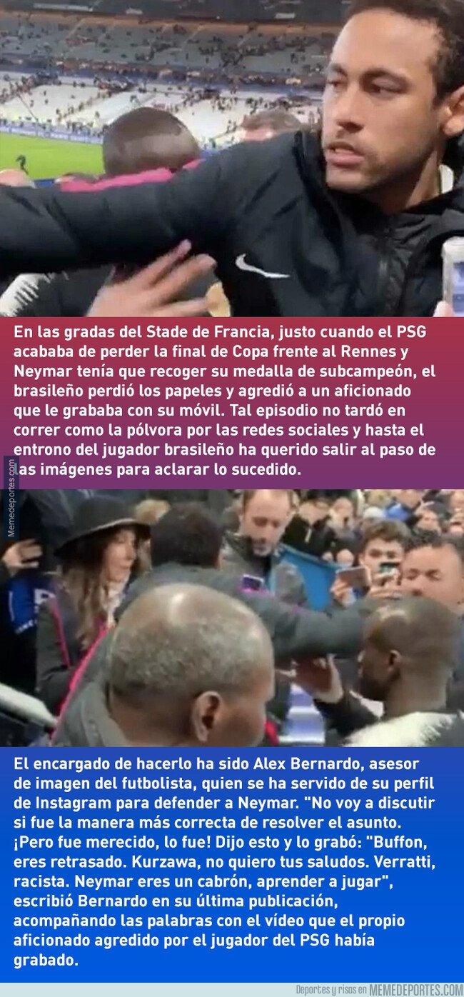 1072821 - Así fue la provocación a Neymar: los insultos a los jugadores del PSG del seguidor agredido
