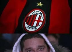 Enlace a Cuando ves de nuevo al Milan fuera de puestos de Champions