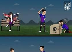 Enlace a La magia de Messi le da una nueva Liga al Barça, por @brfootball