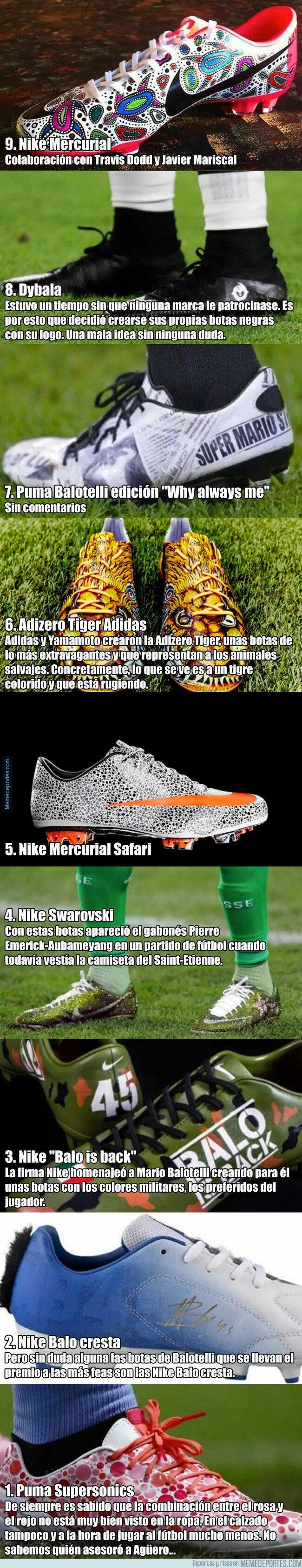 1072939 - Las 9 botas de fútbol más feas de la historia del fútbol