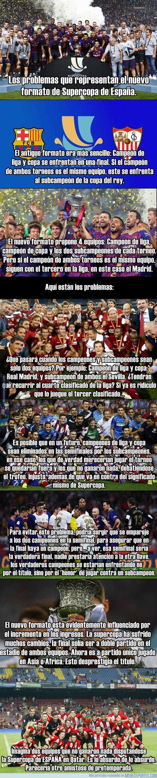 1072980 - Los absurdos que plantea el nuevo cambio de formato en la Supercopa de España
