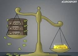Enlace a Un central de oro vale más que una defensa hecha con dinero, por @zezocartoons