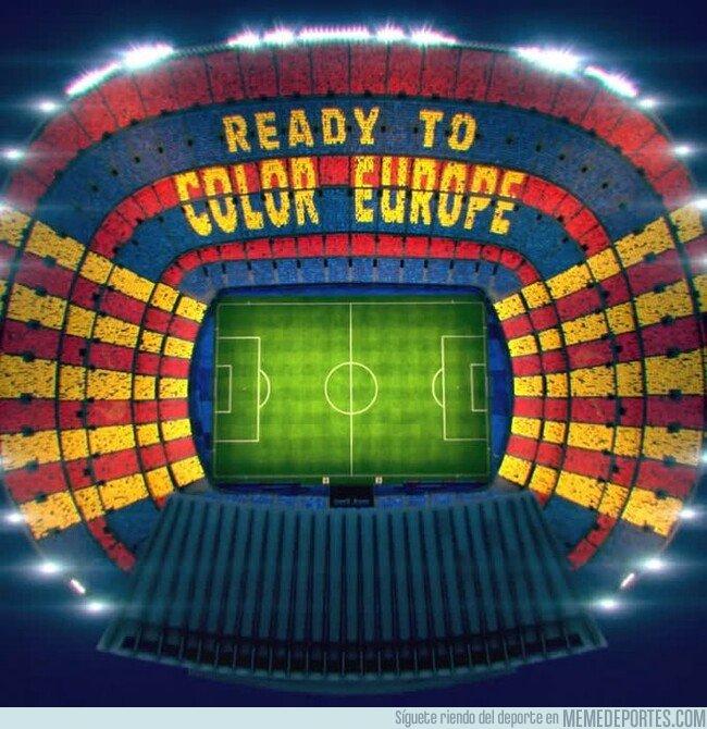 1073018 - Así es el mosaico del Camp Nou, ¿qué opinas?