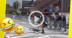 Enlace a La celebración más vacilada en el ciclismo: se para en la meta y se echa una siesta