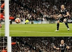 Enlace a La emoción de van de Beek al ver su gol