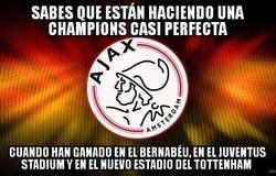 Enlace a El Ajax ha vencido en cualquier feudo que se le ha puesto por delante