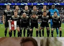 Enlace a Cuando ves jugar al Ajax sientes algo distinto
