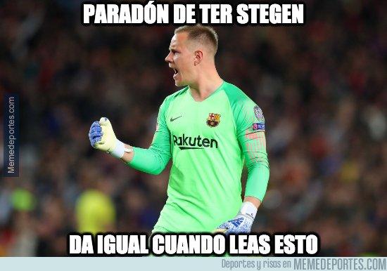 1073193 - El Barça tiene un seguro de vida con Stegen