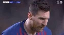 Enlace a Menuda barbaridad el golazo que ha marcado Messi de falta. Su gol número 600