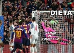 Enlace a Mi dieta vista según el gol de Messi