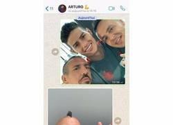 Enlace a Ribéry revela el whatsapp de apoyo que le mandó a Vidal desde Munich, deseándole levantar la copa por 'la banda'