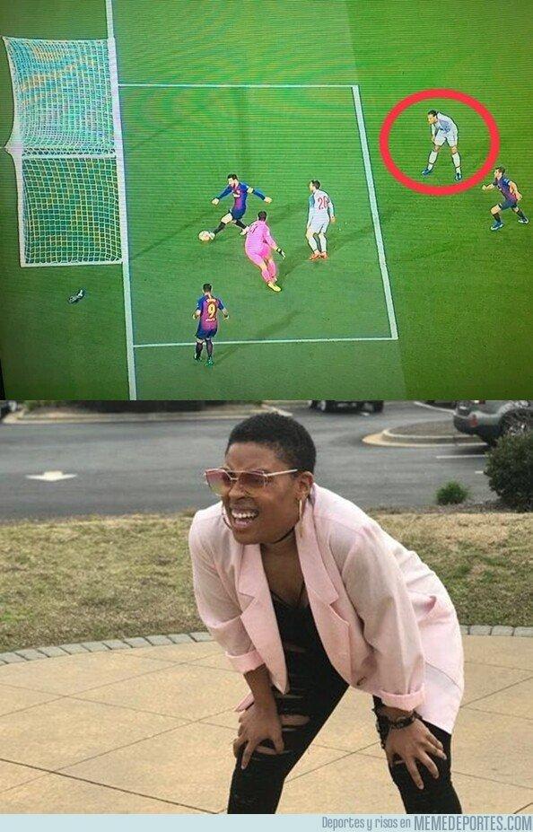 1073342 - Van Dijk es tan bueno que quiso parar a Messi con telepatía
