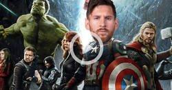 Enlace a El gol de Messi es mucho más épico con la música de Avengers