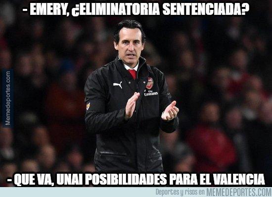 1073414 - Emery no lo tiene claro