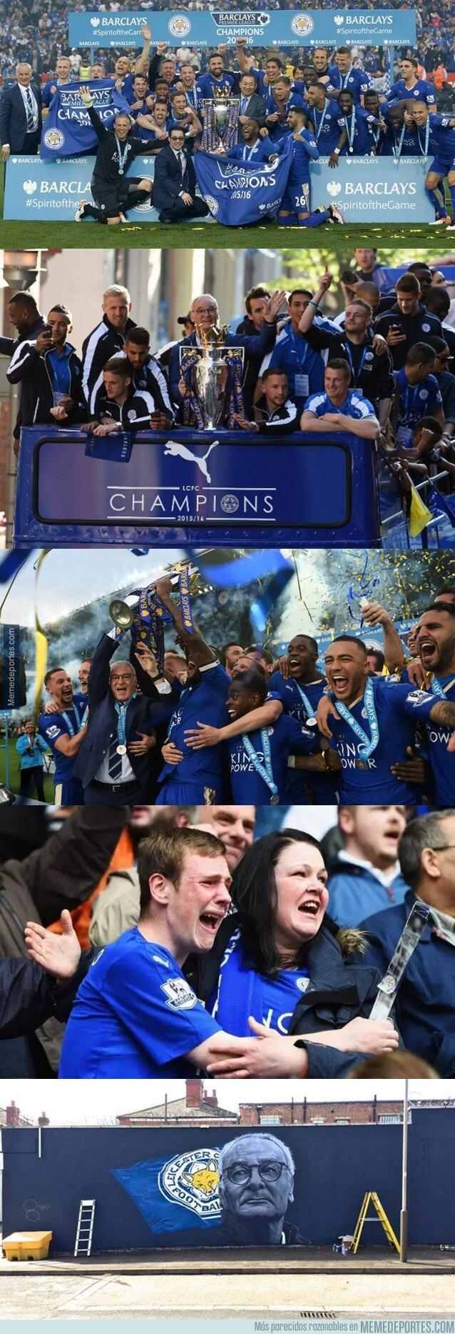 1073439 - Hace 3 años un humilde equipo de azul nos enseñó lo que es el verdadero trabajo duro