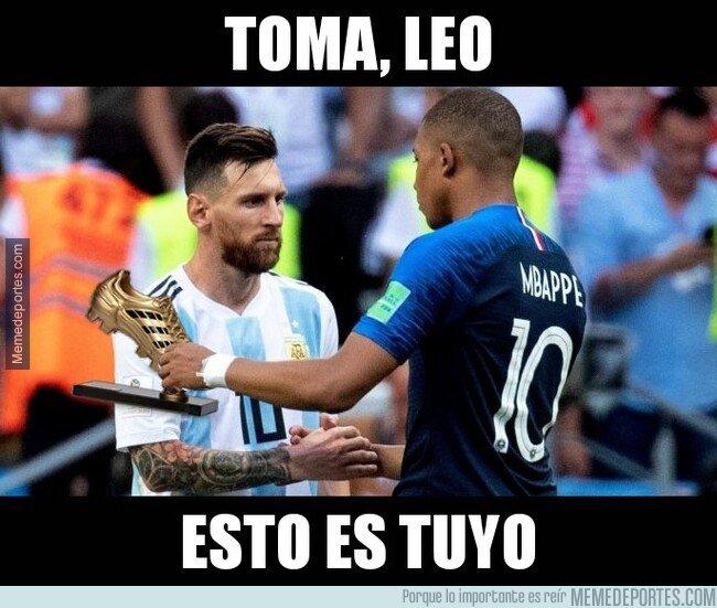1073466 - La sanción de Mbappé da la Bota de Oro directamente a Leo Messi