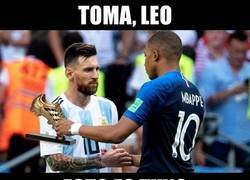 Enlace a La sanción de Mbappé da la Bota de Oro directamente a Leo Messi