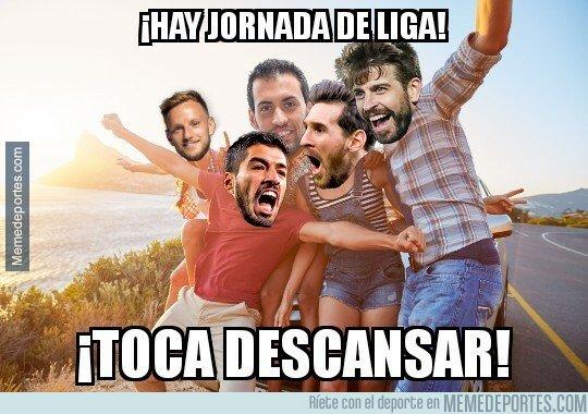 1073472 - Los jugadores importantes del Barça tendrán jornada de descanso