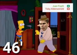 Enlace a Juan Foyth es expulsado 3 minutos después de haber ingresado en el terreno de juego
