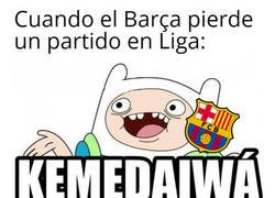 Enlace a Al Barça en Liga le da lo mismo