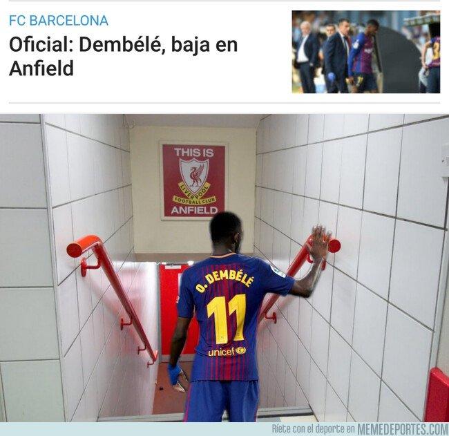 1073554 - Dembelé baja en anfield...