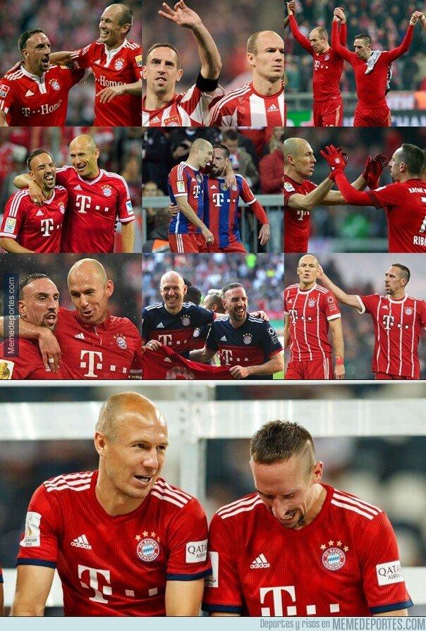 1073557 - Una de las mejores duplas de la década se retiran del Bayern al finalizar la temporada