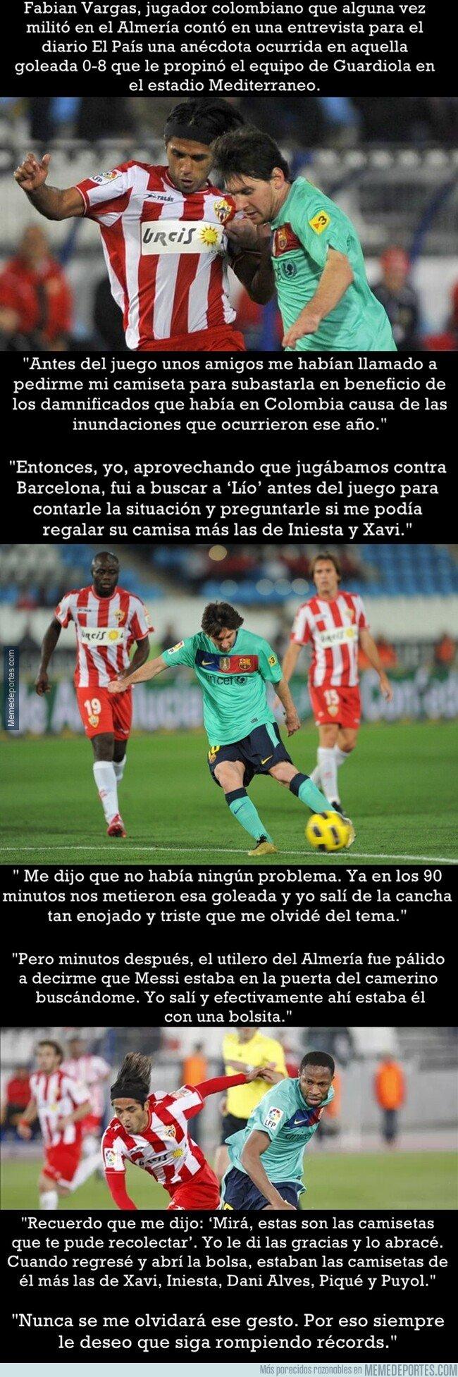 1073565 - La genial anécdota sobre Messi narrada por Fabian Vargas