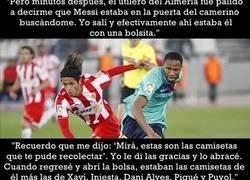 Enlace a La genial anécdota sobre Messi narrada por Fabian Vargas