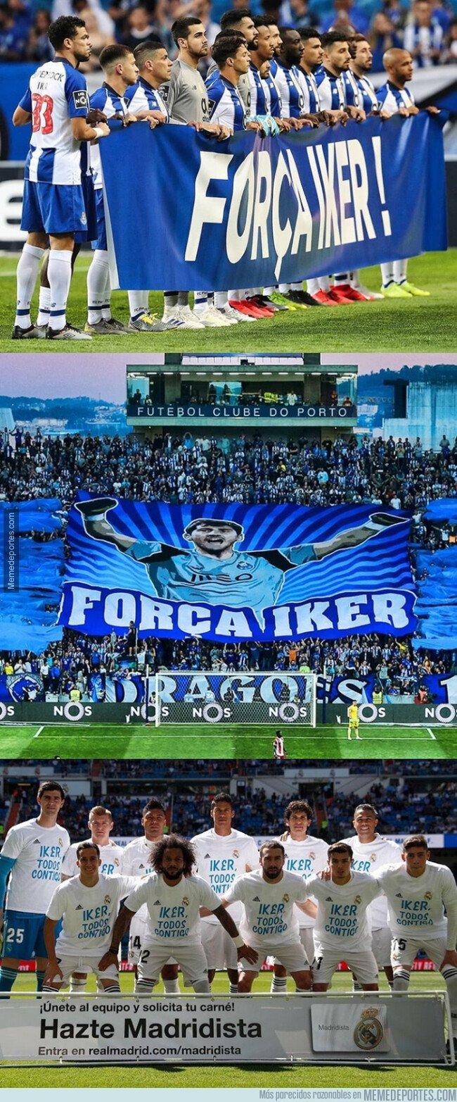 1073575 - Los homenajes que recibió Iker en Oporto y en Madrid