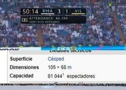 Enlace a La Mitad del Bernabéu vacío. ¿Cómo era que decía?