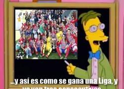 Enlace a El Atlético de Madrid tiene que aprender mucho del Atlético femenino...
