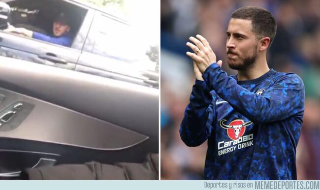 1073655 - La brillante respuesta de Hazard a un fan del Chelsea que le pregunta si se quedará