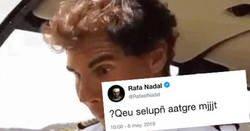 Enlace a Rafa Nadal sube esto a twitter... y hay varias teorías