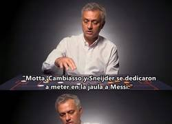 Enlace a La clase magistral de Mourinho de cómo paró al Barça