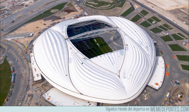 1073754 - Qatar revela un nuevo estadio en forma de vagina gigante para el Mundial 2022
