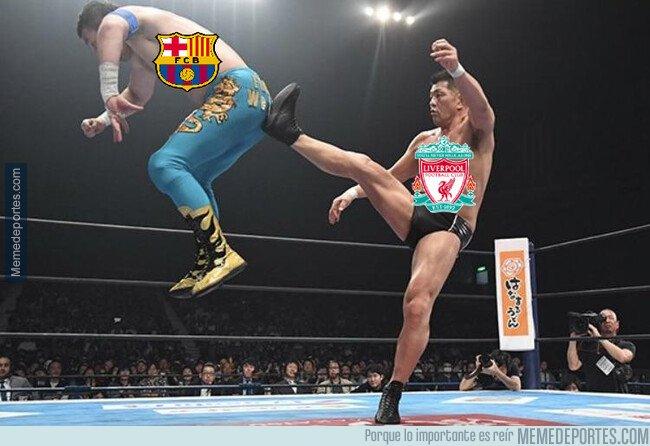 1073810 - Liverpool manda al Barcelona al carrer