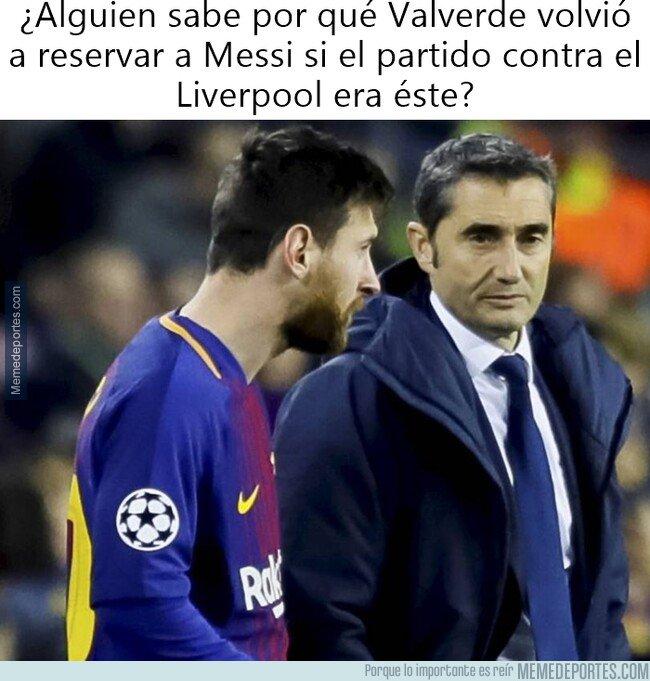 1073857 - Valverde reservó a Messi para el Getafe