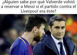 Enlace a Valverde reservó a Messi para el Getafe