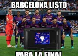 Enlace a El Barca está listo, un meme clásico