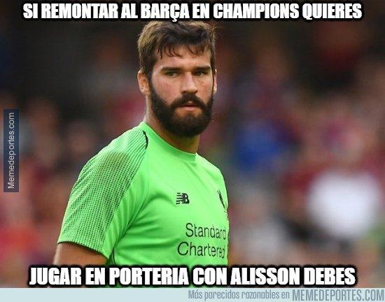 1073892 - Alisson, el verdugo del Barça
