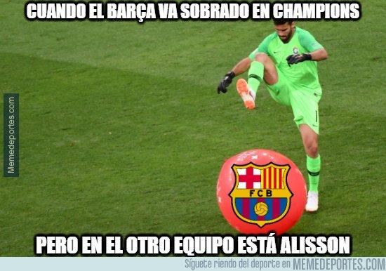 1073939 - Alisson Becker, la pesadilla del Barça