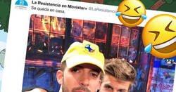 Enlace a La Resistencia se ceba de Piqué con 11 tweets dejándolo por el suelo. Y eso que son colegas
