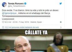Enlace a Cállate ya, Roncero