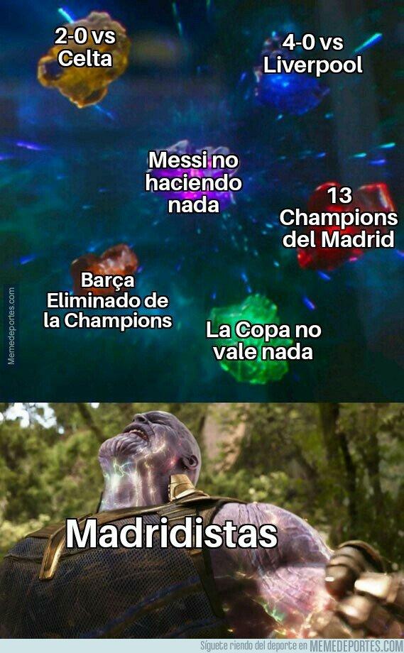 1074191 - Los madridistas después de la eliminación del Barça