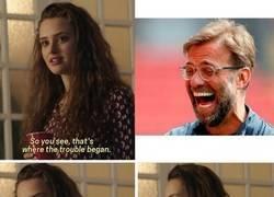 Enlace a Ni el Liverpool brilla más que los dientes de Klopp