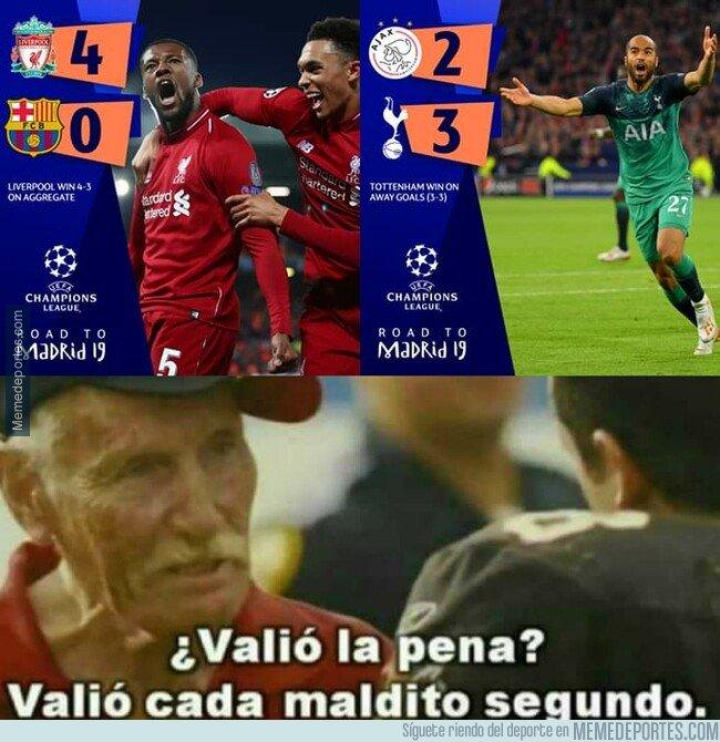 1074304 - ¿Valió la pena dejar todo para ver las semifinales de la UEFA Champions League?