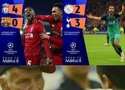Enlace a ¿Valió la pena dejar todo para ver las semifinales de la UEFA Champions League?