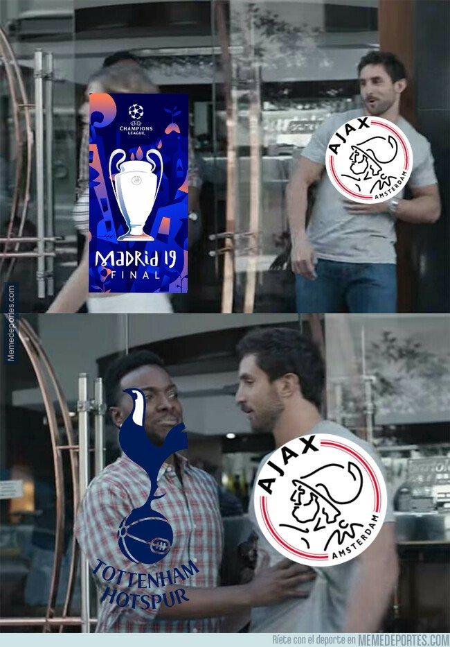 1074322 - El Tottenham le dice no al Ajax