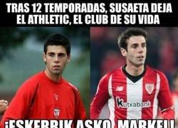 Enlace a Markel Susaeta deja el Athletic Club